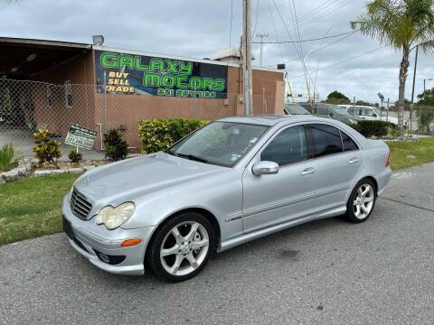 2007 Mercedes-Benz C-Class for sale at Galaxy Motors Inc in Melbourne FL