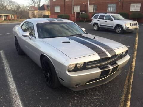 2012 Dodge Challenger for sale at DEALS ON WHEELS in Moulton AL