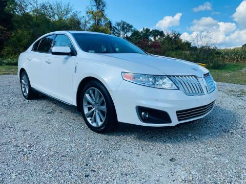 2011 Lincoln MKS for sale at Best For Less Auto Sales & Service LLC in Dunbar PA