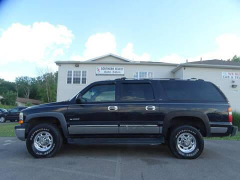 2000 Chevrolet Suburban for sale at SOUTHERN SELECT AUTO SALES in Medina OH