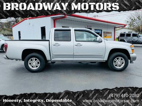 2011 Chevrolet Colorado for sale at BROADWAY MOTORS in Van Buren AR