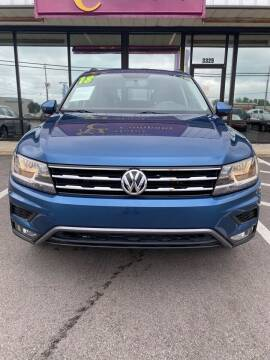 2018 Volkswagen Tiguan for sale at Washington Motor Company in Washington NC