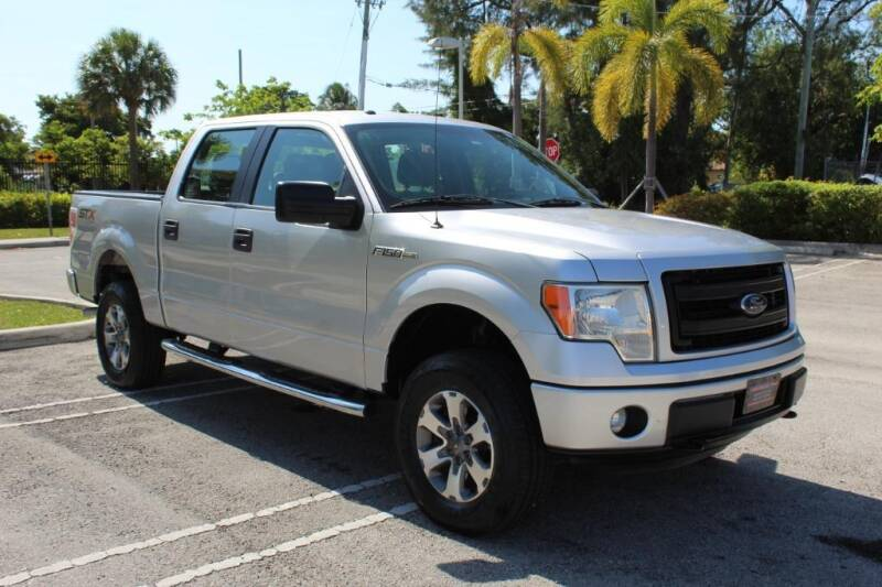 2014 Ford F-150 for sale at Truck and Van Outlet in Miami FL