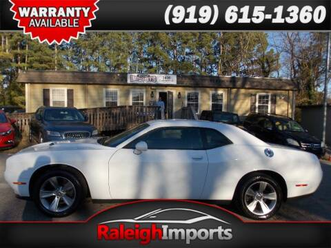 2016 Dodge Challenger for sale at Raleigh Imports in Raleigh NC