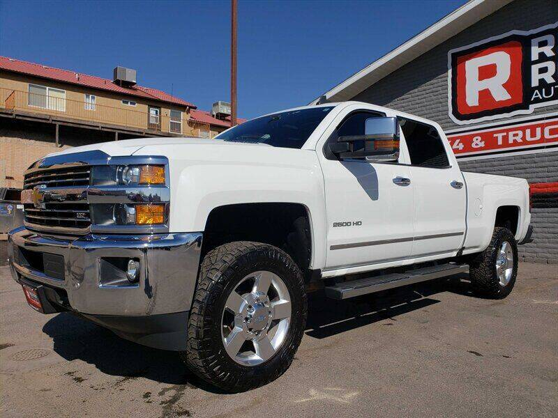 2016 Chevrolet Silverado 2500HD for sale at Red Rock Auto Sales in Saint George UT