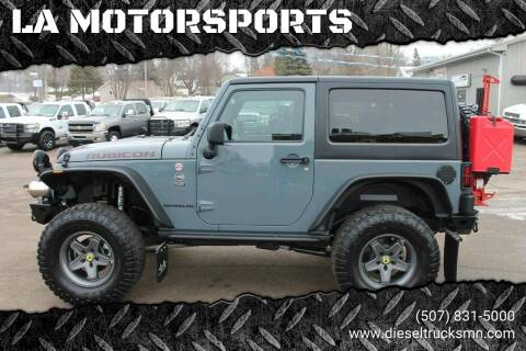2014 Jeep Wrangler for sale at LA MOTORSPORTS in Windom MN