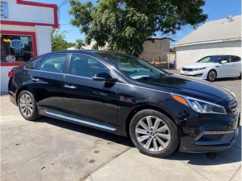 2017 Hyundai Sonata for sale at Dealers Choice Inc in Farmersville CA