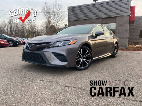 2018 Toyota Camry for sale at George's Used Cars - Telegraph in Brownstown MI