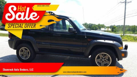 2005 Jeep Liberty for sale at Shamrock Auto Brokers, LLC in Belmont NH