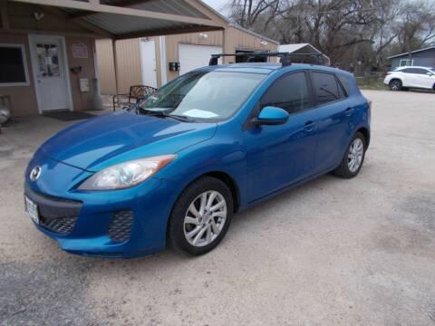 2012 Mazda MAZDA3 for sale at DISCOUNT AUTOS in Cibolo TX