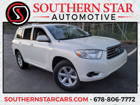 2010 Toyota Highlander for sale at Southern Star Automotive, Inc. in Duluth GA