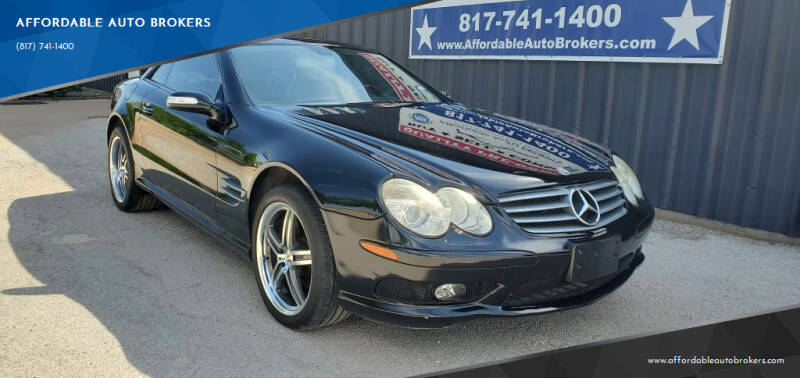 2005 Mercedes-Benz SL-Class for sale at AFFORDABLE AUTO BROKERS in Keller TX