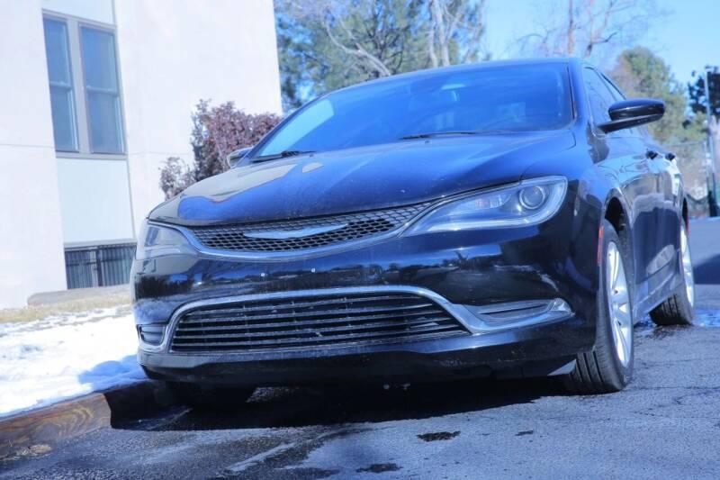 2015 Chrysler 200 for sale at Global Automotive Imports of Denver in Denver CO