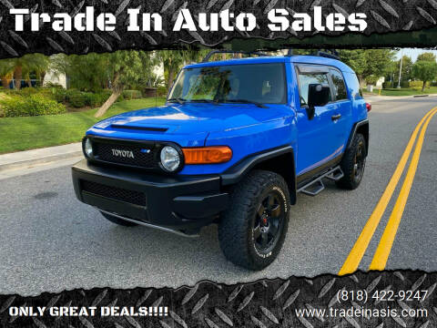 2007 Toyota FJ Cruiser for sale at Trade In Auto Sales in Van Nuys CA