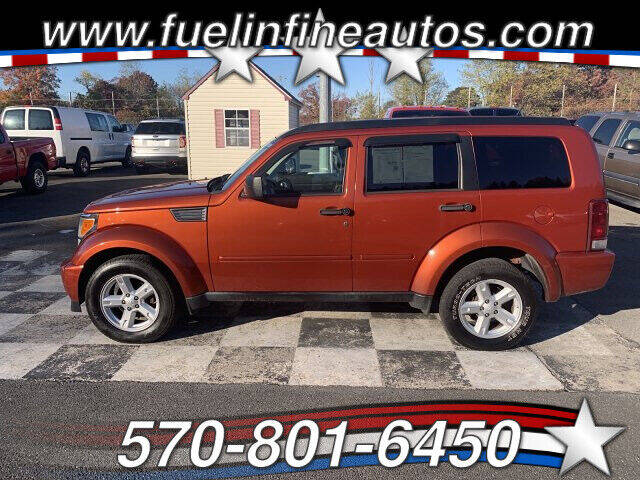 2008 Dodge Nitro for sale at FUELIN FINE AUTO SALES INC in Saylorsburg PA