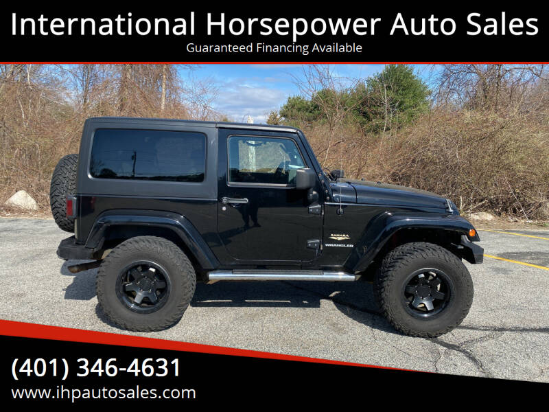 2007 Jeep Wrangler for sale at International Horsepower Auto Sales in Warwick RI
