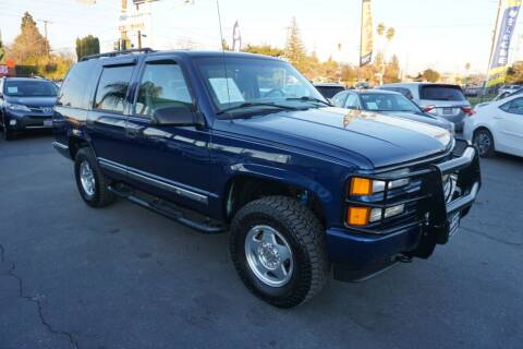 2000 Chevrolet Tahoe Limited/Z71 for sale at Industry Motors in Sacramento CA