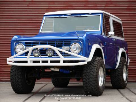 1975 Ford Bronco for sale at Sierra Classics & Imports in Reno NV