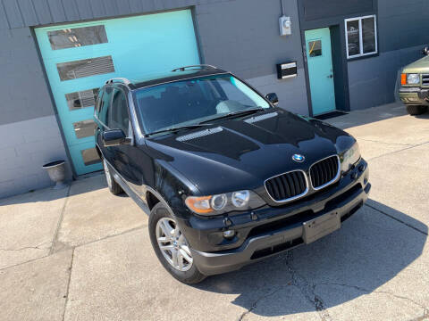 2006 BMW X5 for sale at Enthusiast Autohaus in Sheridan IN