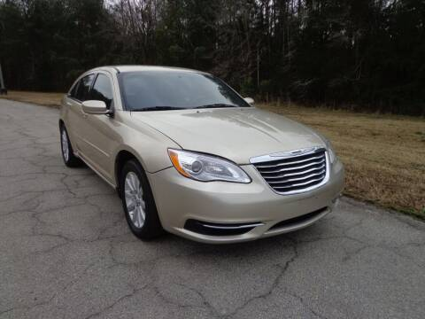 2013 Chrysler 200 for sale at CAROLINA CLASSIC AUTOS in Fort Lawn SC