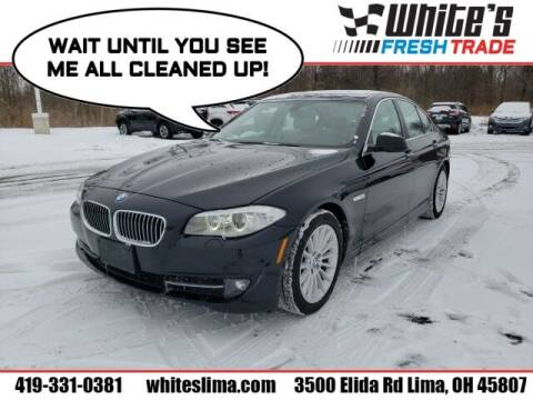 2013 BMW 5 Series for sale at White's Honda Toyota of Lima in Lima OH