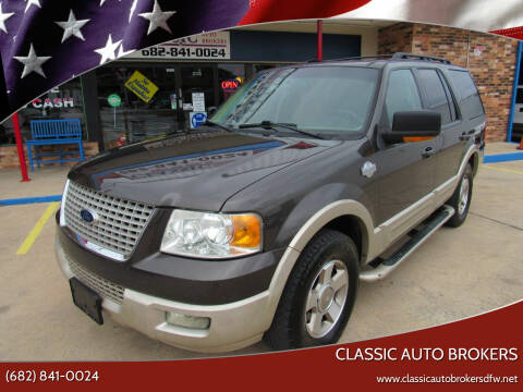 2006 Ford Expedition for sale at Classic Auto Brokers in Haltom City TX