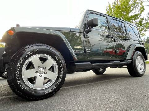 2011 Jeep Wrangler Unlimited for sale at GO AUTO BROKERS in Bellevue WA