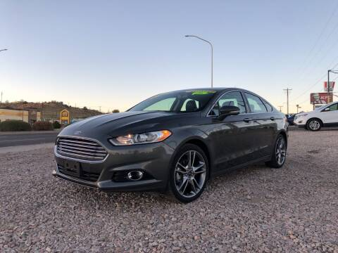 2016 Ford Fusion for sale at 1st Quality Motors LLC in Gallup NM