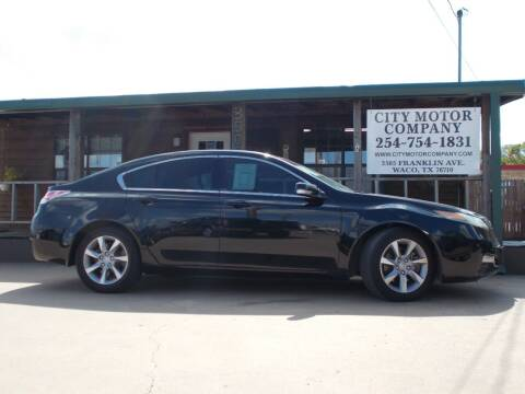 2013 Acura TL for sale at CITY MOTOR COMPANY in Waco TX