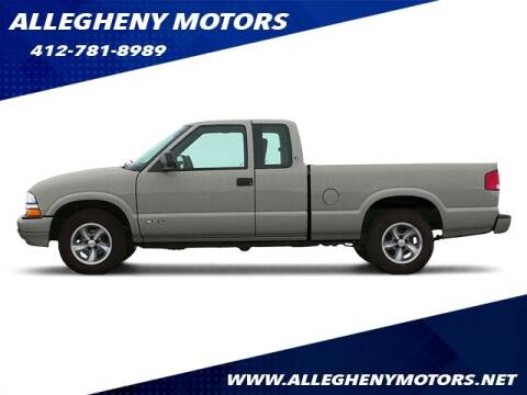 2003 Chevrolet S-10 for sale at Allegheny Motors in Pittsburgh PA