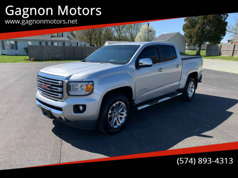 2015 GMC Canyon for sale at Gagnon  Motors - Gagnon Motors in Akron IN