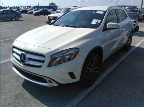 2015 Mercedes-Benz GLA for sale at Navarro Auto Motors in Hialeah FL