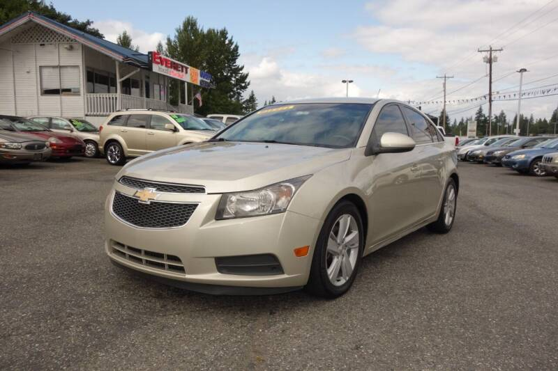 2014 Chevrolet Cruze for sale at Leavitt Auto Sales and Used Car City in Everett WA