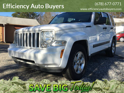 2012 Jeep Liberty for sale at Efficiency Auto Buyers in Milton GA