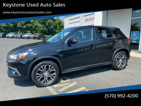 2016 Mitsubishi Outlander Sport for sale at Keystone Used Auto Sales in Brodheadsville PA