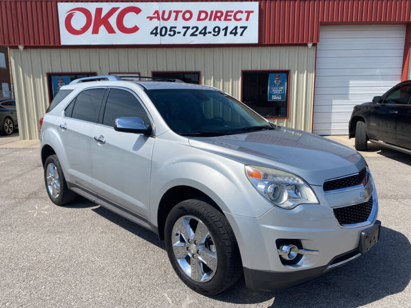 2012 Chevrolet Equinox for sale at OKC Auto Direct in Oklahoma City OK