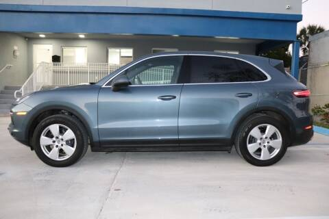 2019 Porsche Cayenne for sale at PERFORMANCE AUTO WHOLESALERS in Miami FL