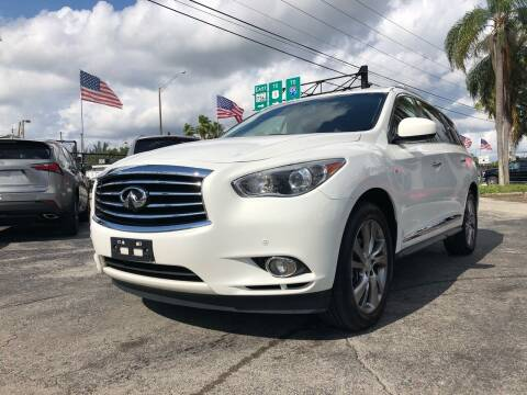 2014 Infiniti QX60 for sale at Gtr Motors in Fort Lauderdale FL