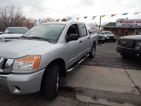 2009 Nissan Titan for sale at Dave's discount auto sales Inc in Clearfield UT