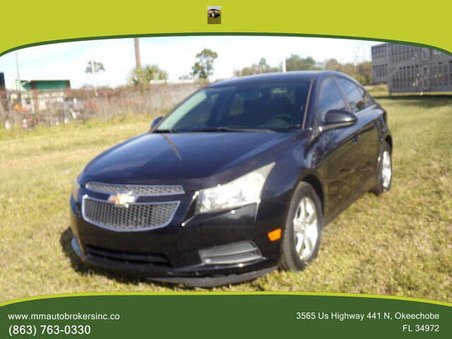 2012 Chevrolet Cruze for sale at M & M AUTO BROKERS INC in Okeechobee FL