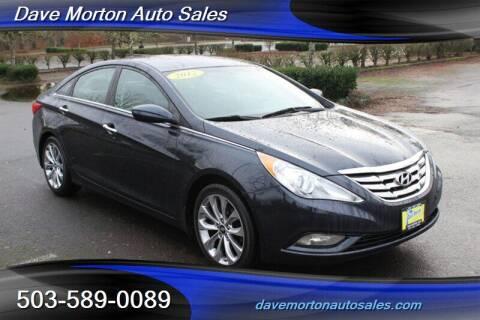 2012 Hyundai Sonata for sale at Dave Morton Auto Sales in Salem OR