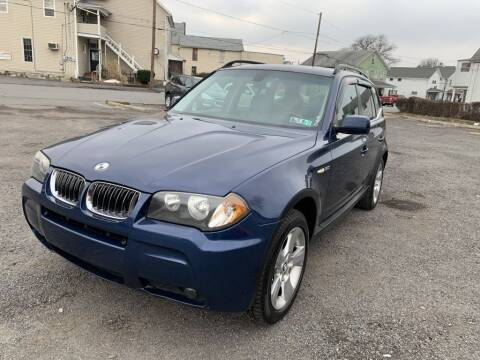 2006 BMW X3 for sale at VINNY AUTO SALE in Duryea PA