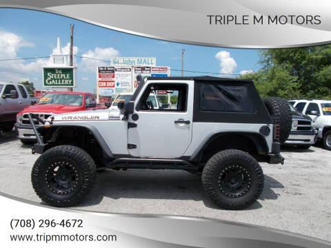 2011 Jeep Wrangler for sale at Triple M Motors in Saint John IN