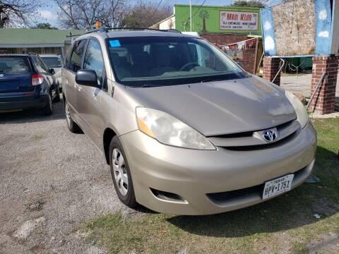 2007 Toyota Sienna for sale at C.J. AUTO SALES llc. in San Antonio TX