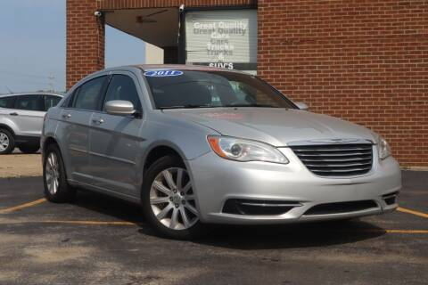 2011 Chrysler 200 for sale at Hobart Auto Sales in Hobart IN