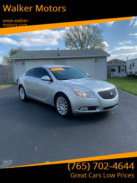 2011 Buick Regal for sale at Walker Motors in Muncie IN