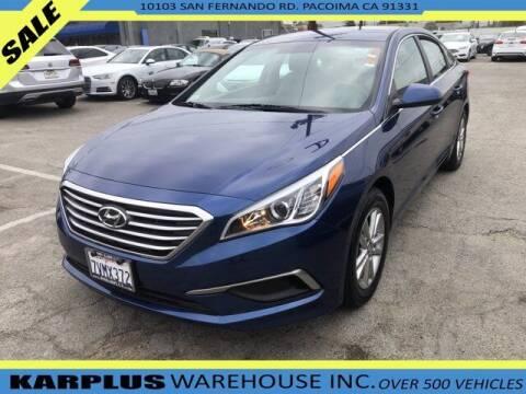 2017 Hyundai Sonata for sale at Karplus Warehouse in Pacoima CA
