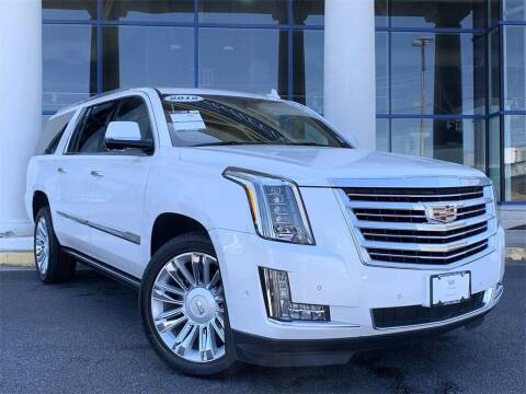 2018 Cadillac Escalade ESV for sale at Capital Cadillac of Atlanta in Smyrna GA