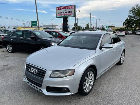 2012 Audi A4 for sale at Jamrock Auto Sales of Panama City in Panama City FL