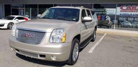 2007 GMC Yukon XL for sale at Carz Unlimited in Richmond VA